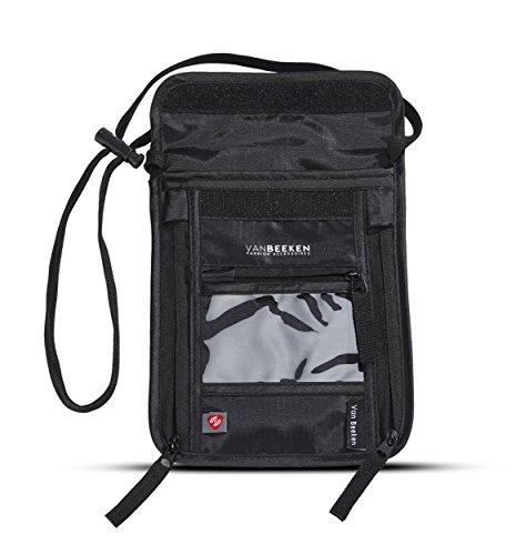 brustbeutel brusttasche mit rfid blockierung f r damen und. Black Bedroom Furniture Sets. Home Design Ideas