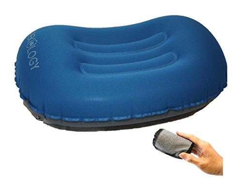 trekology ultralight aufblasbares reise camping kissen komprimierbar kompakt aufblasbar. Black Bedroom Furniture Sets. Home Design Ideas